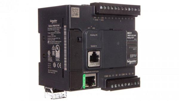 Sterownik programowalny 16 I/O przekaźnikowych EthernetModicon M221-16I/O TM221CE16R