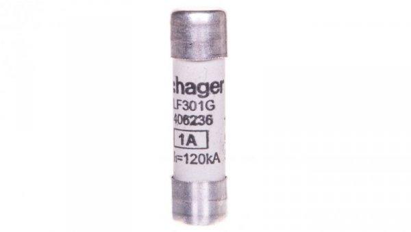 Wkładka topikowa cylindryczna BiWtz 10x38 mm gG 1A 500V AC LF301G /10szt./