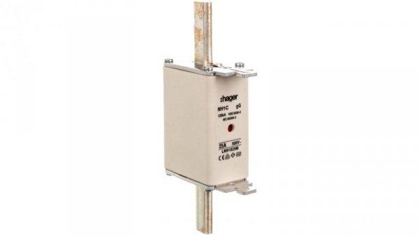 Wkładka bezpiecznikowa NH1C 25A 500V gG LNH1025M