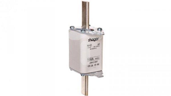 Wkładka bezpiecznikowa zwłoczna NH2C 100A AC 500V gG LNH2100T