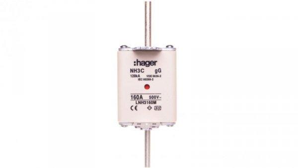 Wkładka bezpiecznikowa NH3C 160A 500V gG LNH3160M