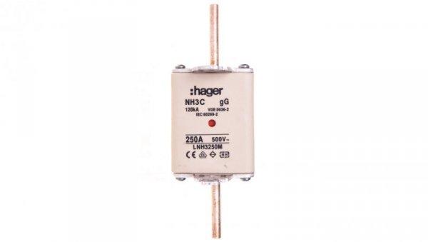 Wkładka bezpiecznikowa NH3C 250A 500V LNH3250M