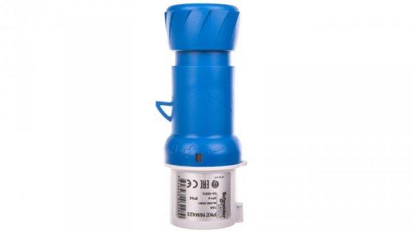 Przemysłowa wtyczka przenośna, prosta, 16A, 2p+E, 200...250 V AC, IP 44 PKE16M423