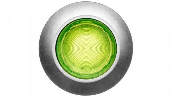 Napęd przycisku 30mm zielony z podświetleniem bez samopowrotu metalowy matowy IP69k Sirius ACT 3SU1061-0JA40-0AA0