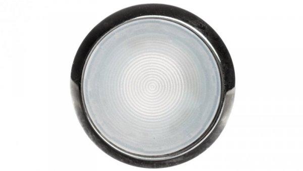 Napęd przycisku 22mm biały z podświetleniem z samopowrotem metalowy IP69k Sirius ACT 3SU1051-0AB60-0AA0