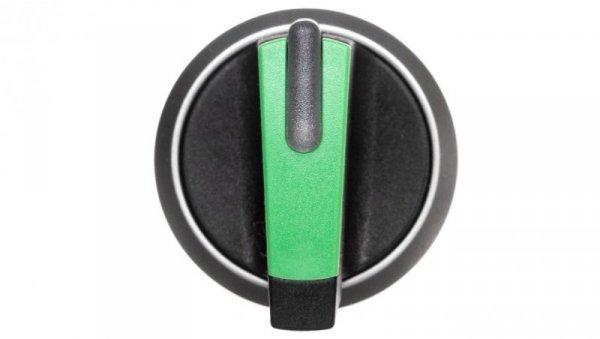 Napęd przełącznika 3 położeniowy I-O-II 22mm zielony podświetlany bez samopowrotu plastik IP69k Sirius ACT 3SU1032-2BL40-0AA0
