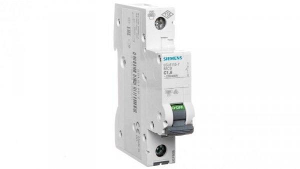 Wyłącznik nadprądowy 1P C 1.6A 6kA AC 5SL6115-7