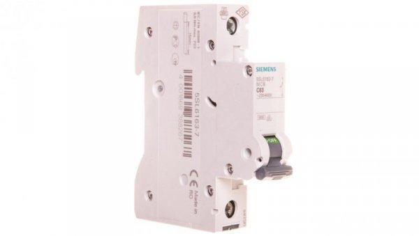 Wyłącznik nadprądowy 1P C 63A 6kA AC 5SL6163-7