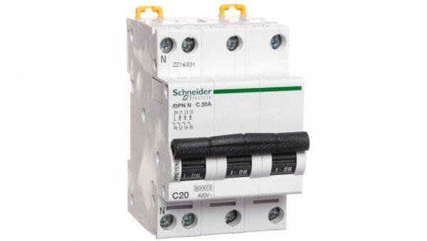 Wyłącznik nadprądowy 3P+N C 20A AC iDPN N A9N21598