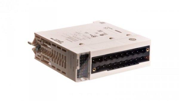 Moduł wejść dyskretnych M340, 16 wejść, 24 V AC/DC logika ujemna BMXDAI1602