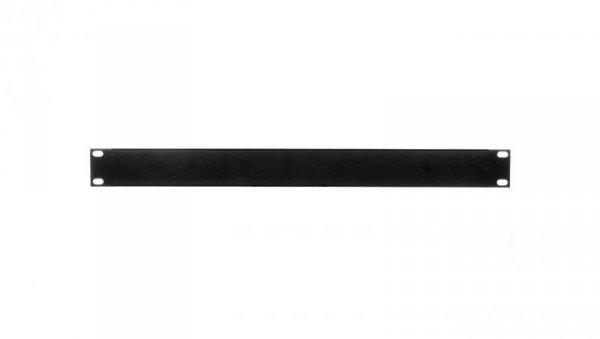 Maskownica do szafy 19 cali 1U czarna (RAL 9005) TN-19-M1U-BK