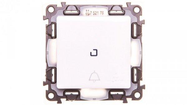 VALENA LIFE Przycisk /dzwonek/ IP44 z podświetleniem biały 752176