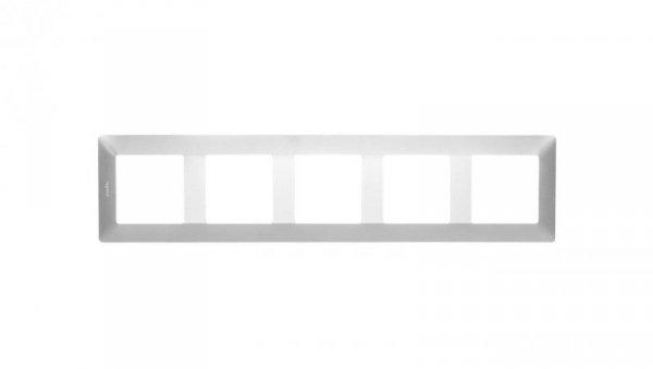 VALENA LIFE Ramka pięciokrotna aluminium 754135