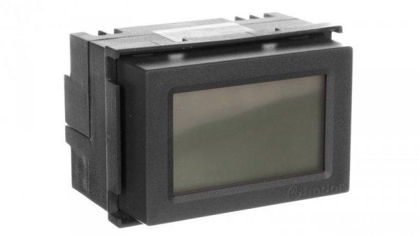Termostat elektroniczny czarny do zabudowy  programowany tygodniowo 1C.51.9.003.2007
