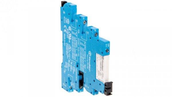 Przekaźnikowy moduł sprzęgający 6,2mm MasterPLUS 1P 6A 24VAC/DC styki AgNi zaciski śrubowe 39.31.0.024.0060