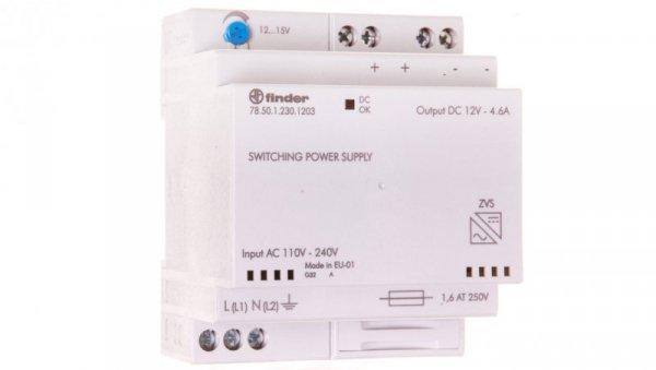 Zasilacz impulsowy modułowy 50W 12V DC 110-240V AC 78.50.1.230.1203