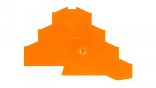 Ścianka końcowa pomarańczowa 281-366 /25szt./