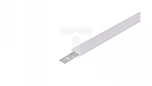 Przesłona C klik mleczna do profil LED aluminiowy Surface10 Corner10 Groove10 Trio10 ARC12 OVAL20 DEEP10 UNI12 TOPMET LUX00534 /