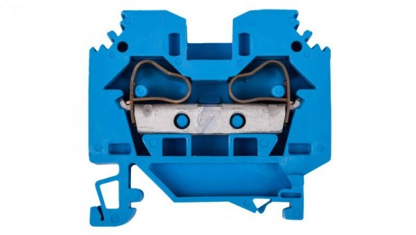 Złączka szynowa 2-przewodowa 10mm2 niebieska 284-104
