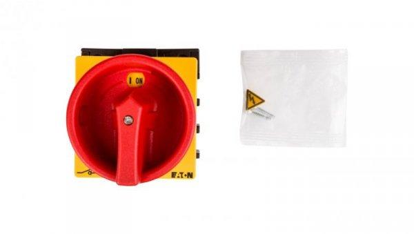 Łącznik krzywkowy 0-1 3P+N 25A do wbudowania P1-25/EA/SVB/N 081587