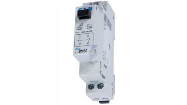 Przełącznik modułowy 16A 1Z 1R Z-SW/SO 276302