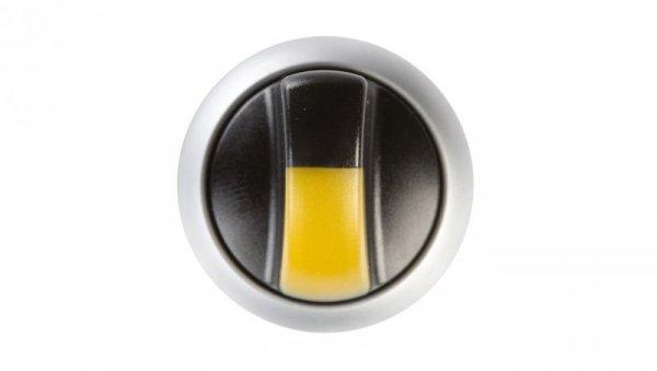 Napęd przełącznika 2 połozeniowy żółty z podświetleniem bez samopowrotu M22-WRLK-Y 216829
