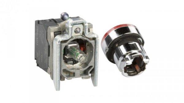 Przycisk sterowniczy 22mm czerwony z samopowrotem z podświetleniem 1Z 1R XB4BW34B5
