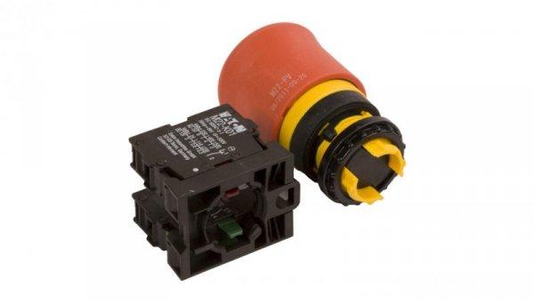 Przycisk bezpieczeństwa 22mm 1Z 1R IP66 przez pociągnięcie M22-PV/K11 216516