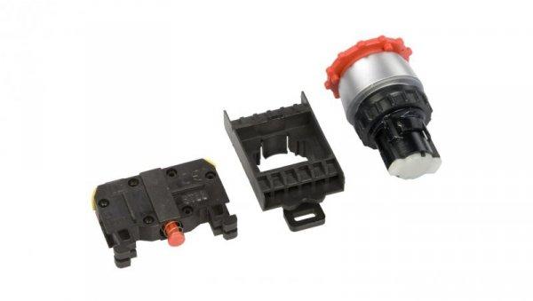 Przycisk bezpieczeństwa 22mm 1R IP65 przez obrót ST22-B-01.