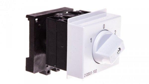 Przełącznik obrotowy 1-0-2 20A 1P Z-DSU1-102 248869