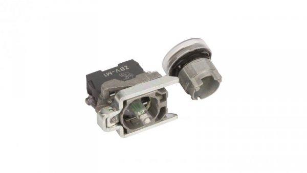 Lampka sygnalizacyjna 22mm biała 230-240V AC LED XB4BVM1