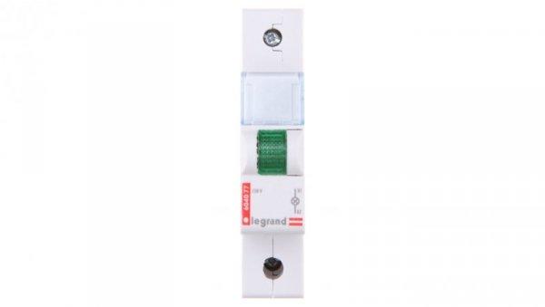 Lampka modułowa zielona 230-250V AC L313 604077