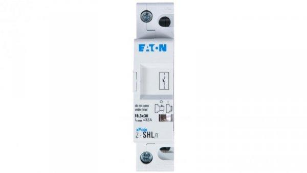 Rozłącznik bezpiecznikowy cylindryczny 1P 10x38mm Z-SHL/1 263883