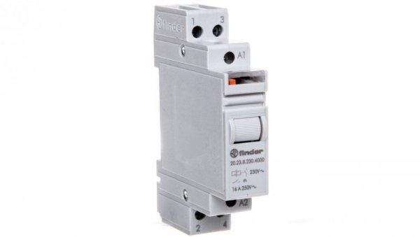 Przekaźnik impulsowy 1Z 1R 16A 230V AC AgSnO2 20.23.8.230.4000