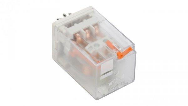 Przekaźnik przemysłowy 3P 10A 110V AC AgNi R15-2013-23-5110-WT 802868