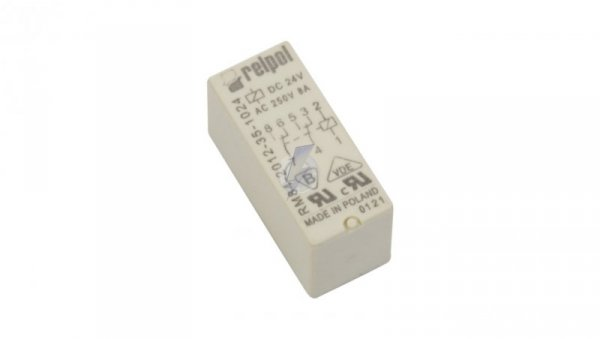 Przekaźnik miniaturowy 2P 8A 24V DC  PCB AgNi RM84-2012-35-1024 600336