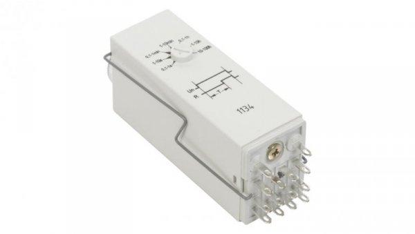 Przekaźnik czasowy 4P 6A 1sek-100h 230V AC opóźnione załączenie T-R4E-2014-23-5230 854016
