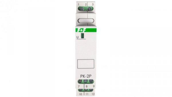 Przekaźnik elektromagnetyczny 2P 8A 24V AC/DC PK-2P-24V