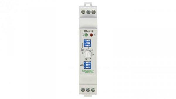 Przekaźnik czasowy 1P 5A 0,01sek-100h 24-240V AC/DC wielofunkcyjny RTx-410 2610391