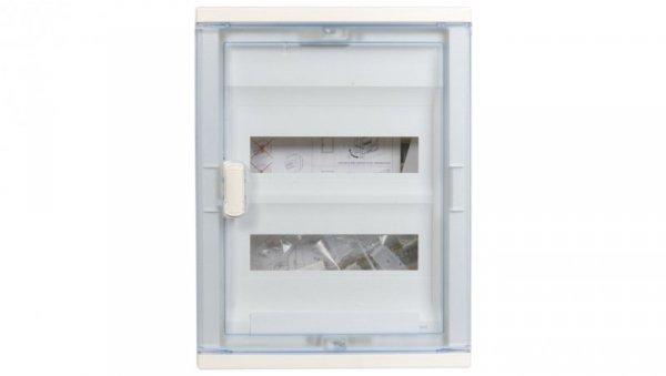 Rozdzielnica modułowa 2x12 podtynkowa IP40 RWN (drzwi transparentne) 602422