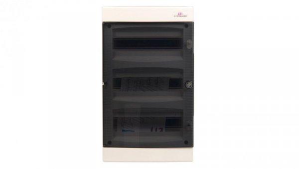 Rozdzielnica modułowa 3x12 podtynkowa /transparentna/ IP40 ECM36PT-S DIDO 001101076