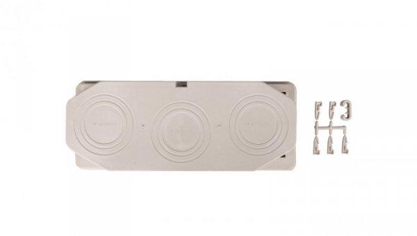 Płyta przepustowa 3xM40/50/63, 80x300mm IP65 do ścianek 300mm Mi FM63 HPL2000133