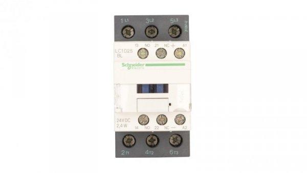 Stycznik mocy 25A 3P 24V DC 1Z 1R LC1D25BL