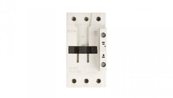 Stycznik mocy 50A 3P 24-27V DC 0Z 0R DILM50 (RDC24) 277844