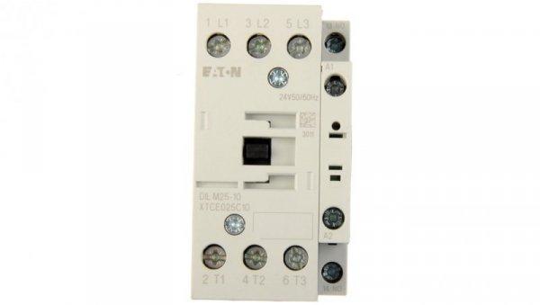Stycznik mocy 25A 3P 24V AC 1Z 0R DILM25-10 (24V50/60HZ) 277136