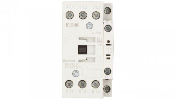 Stycznik mocy 32A 3P 24-27V DC 0Z 1R DILM32-01(RDC24) 277306