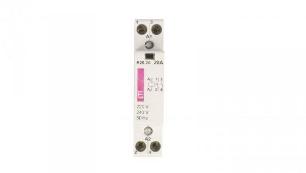 Stycznik modułowy 20A 230V AC 2Z 0R R 20-20 002461210