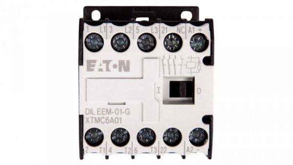 Stycznik mocy 6A 3P 24V DC 0Z 1R DILEEM-01-G(24VDC) 051650