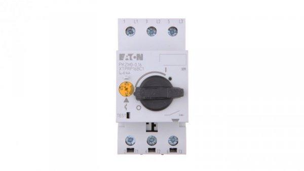 Wyłącznik silnikowy 3P 0,03kW 0,1-0,16A PKZM0-0,16 072730