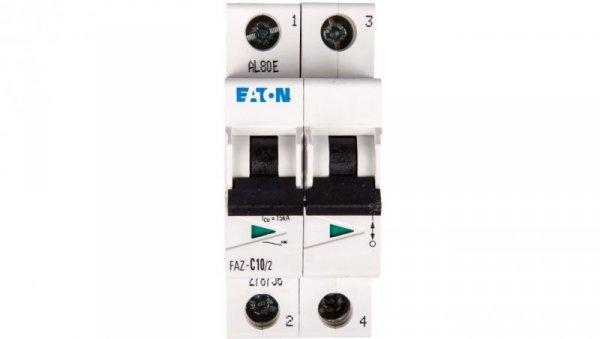 Wyłącznik nadprądowy 2P C 10A 15kA AC FAZ C10/2 278756